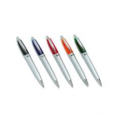 Στυλό δίχρωμο με ασημί κορμό
